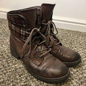 BOC   Lace Up Combat Ankle Boots